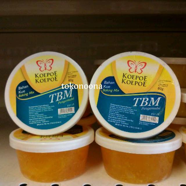 Koepoe-Koepoe Bahan Kue TBM Pengemulsi /Baking Mix /Makanan