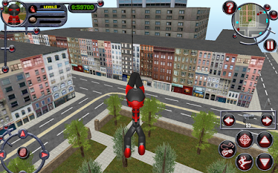 لعبة Stickman Rope Hero للاندرويد, لعبة Stickman Rope Hero مهكرة, لعبة Stickman Rope Hero للاندرويد مهكرة