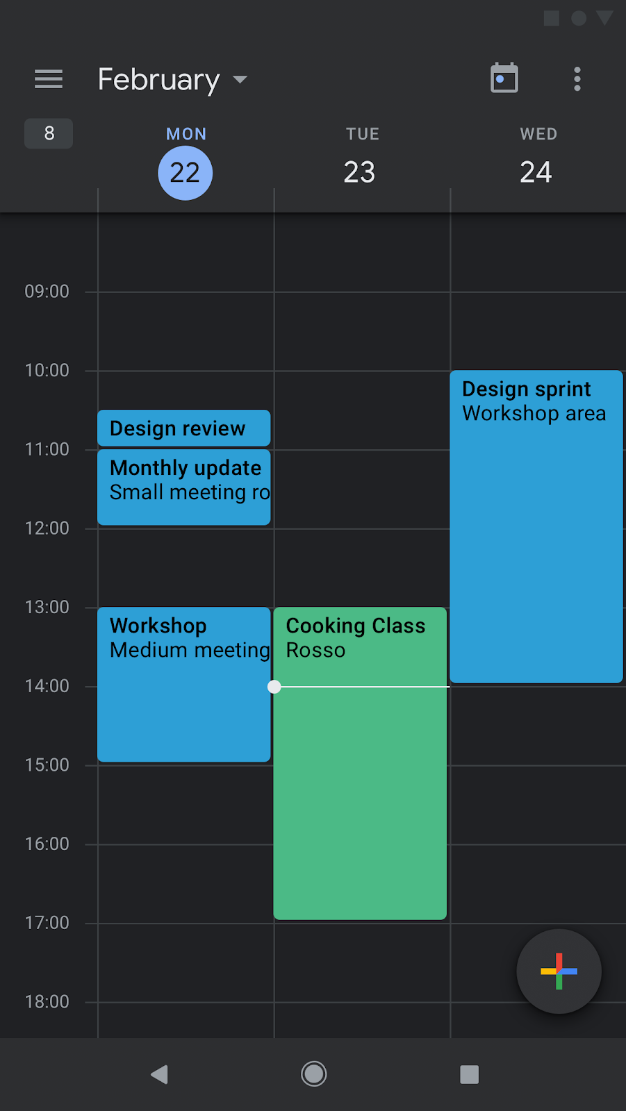 Calendario Android Widget.G Suite Updates Blog Dark Mode Available For Calendar And