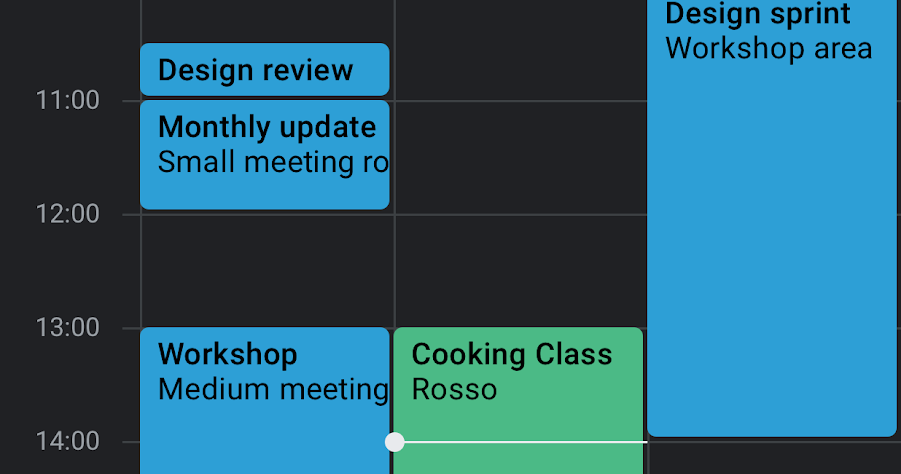 G Suite Updates Blog: Dark mode available for Calendar and