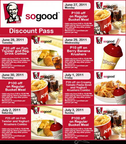 graphic regarding Kfc Coupons Printable called Kfc coupon codes printable june 2018 - Frontier coupon code july 2018