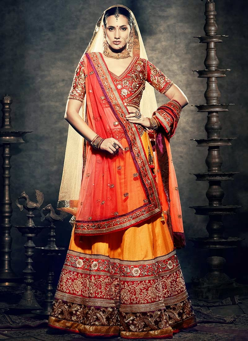 Designer Lehengas For The Big Fat Indian Wedding