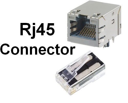 RJ45 Connectors And Network wiring Cables Cat5 Cat6 Wiring