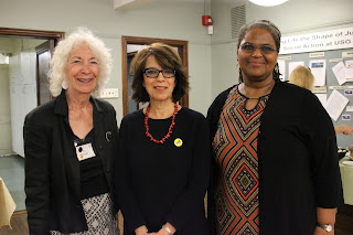 Kay Weiser End Racism Committee, Director NC Heikin and Pastor Connie