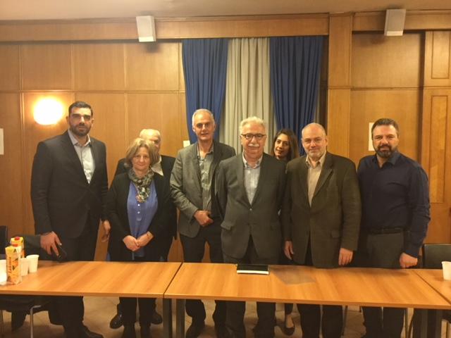 Συνάντηση των βουλευτών Πελοποννήσου του ΣΥΡΙΖΑ με Γαβρόγλου και Αραχωβίτη για το Πανεπιστήμιο