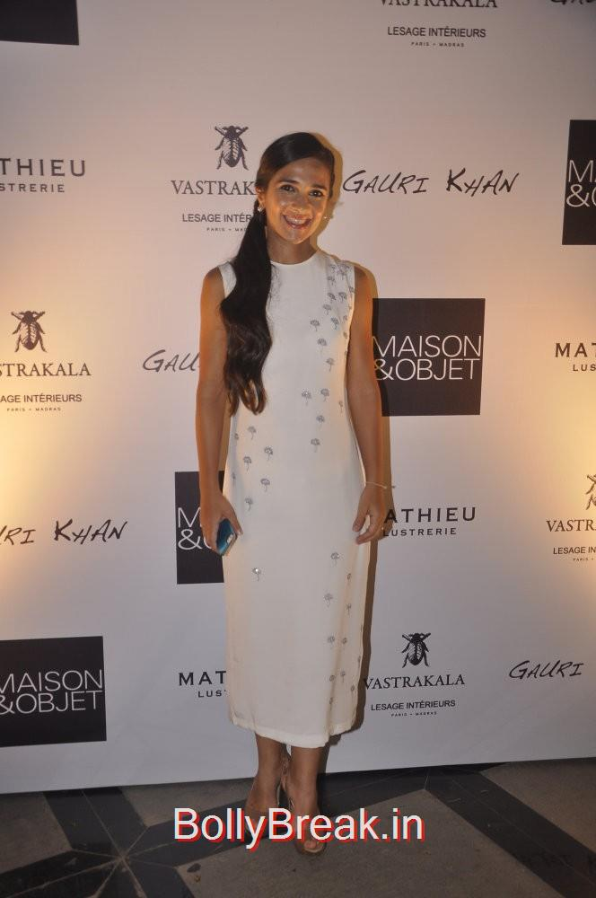 Tara Sharma was elegant as ever in this classic white dress, Gauri Khan hosted the glitterati of Mumbai in an event to launch her new workspace in Mumbai