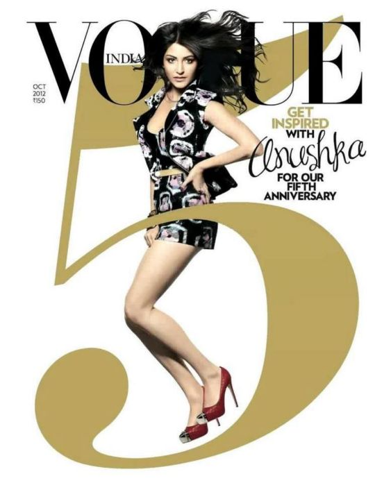 Anushka Sharma Sonam Kapoor Vogue India October 2012