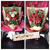 Hand Bouquet Mawar Valentine