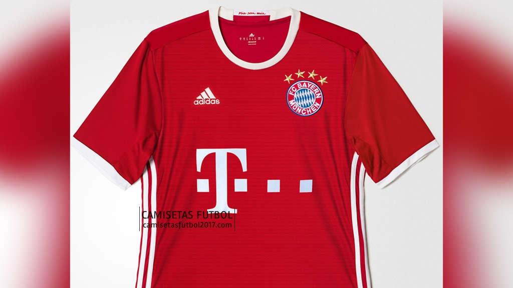Nueva primera camiseta bayern munich 2017  ed17edc9631ab