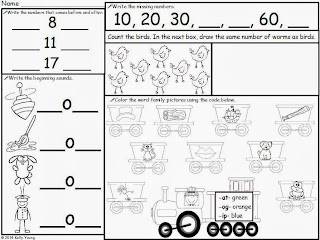 Young & Lively Kindergarten: Turning the Calendar