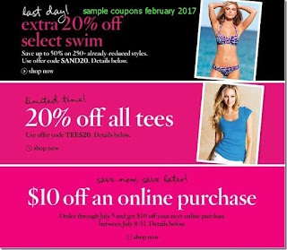 free Victoria's Secret coupons for february 2017