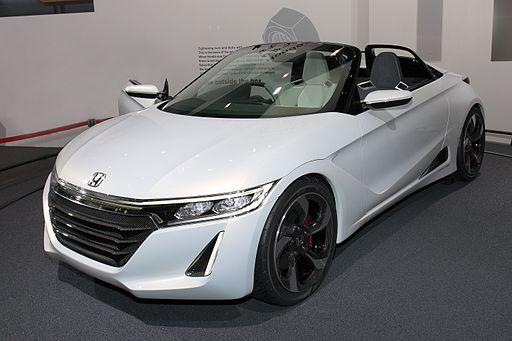 Hondaの軽自動車オープンカー S660