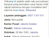 Pegimane bangsa Endonesia mau maju kalo internet aja mahal?