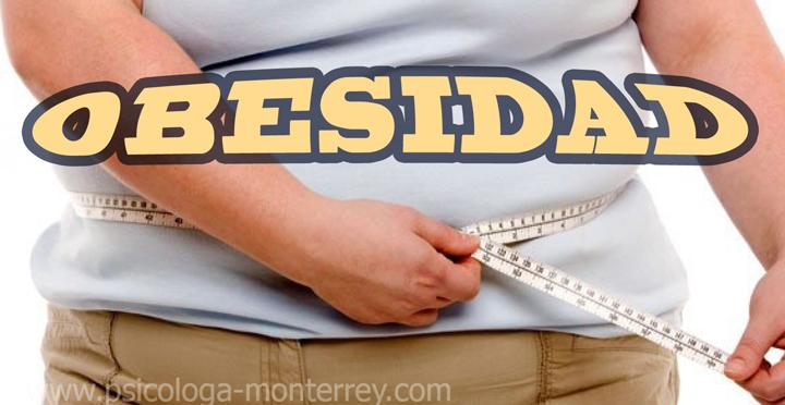 Obesidad ~ Psicóloga en Monterrey N.L.