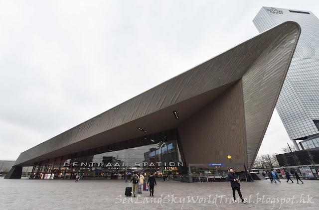鹿特丹, Rotterdam, 荷蘭, 火車站, centraal