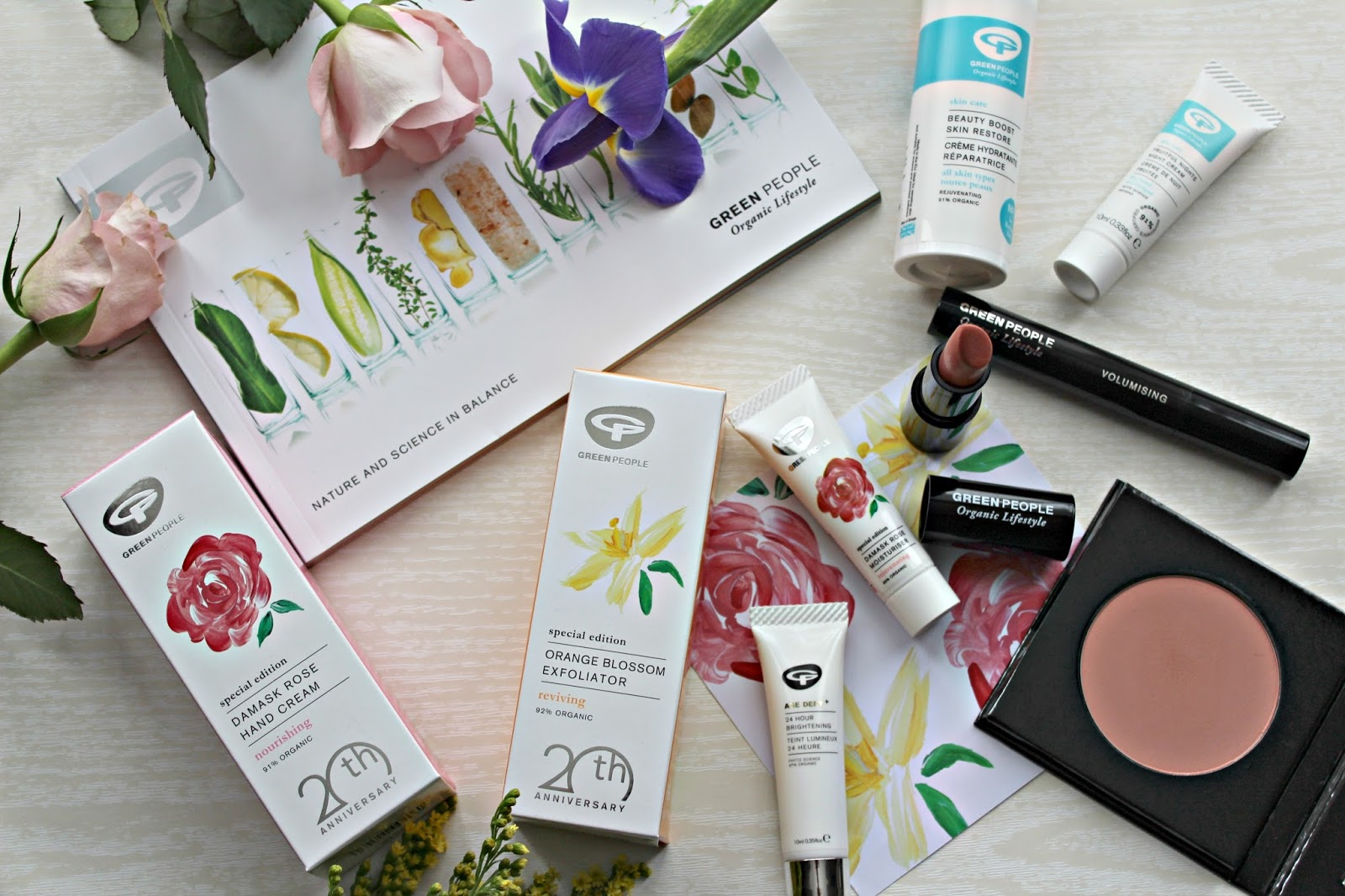 Celebrating 20 years of natural beauty with Green People