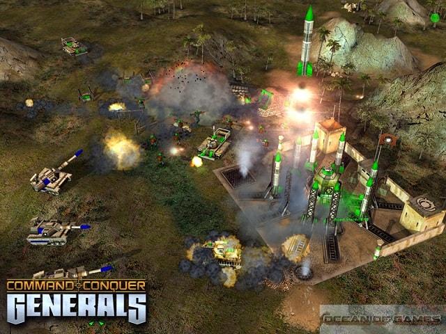 تحميل لعبة الجنرال Command and Conquer Generals Zero Hour كاملة للكمبيوتر برابط واحد