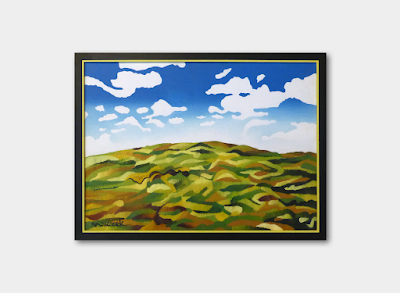 Top of the Downs, FRAMED, £150