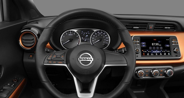 Interior Nissan Kicks Special Edition