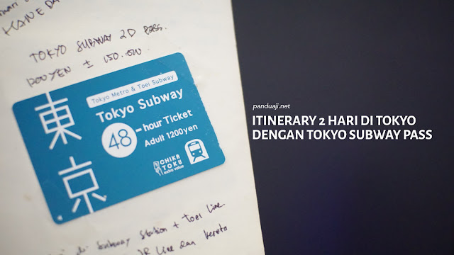 Itinerary Tokyo 2 Hari