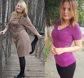 Київ Веселка, фото до і після втрати ваги