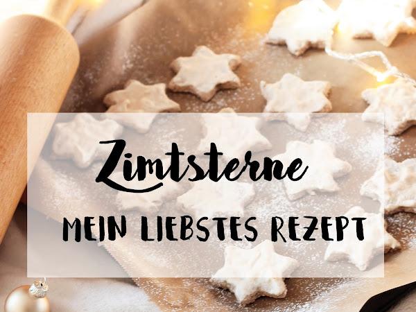 Last Minute Plätzchenrezept: Zimtsterne // + leckere Rezepte von anderen Bloggern