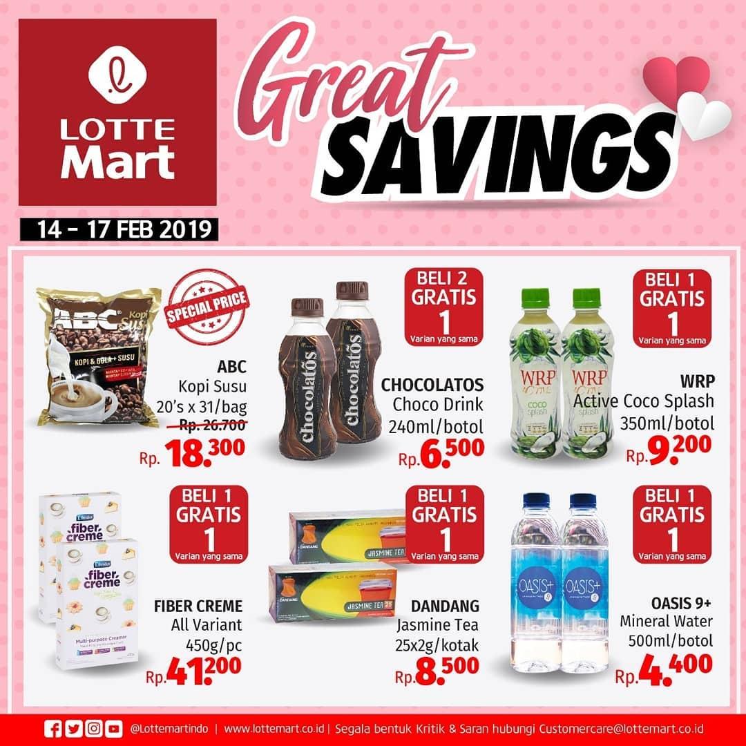 #LotteMart - #Promo #Katalog JSM Periode 14 - 17 Februari 2019