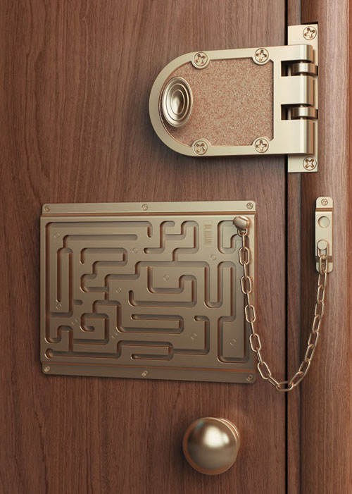 Funny Images Imthy Funny Door Lock