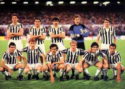 Copa dos Campeões 1984-1985 : Juventus conquista seu primeiro Título