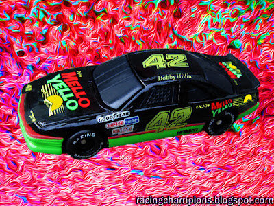 Bobby Hillin #42 Mello Yello Racing Champions 1/64 NASCAR diecast blog Sabco Kyle Petty