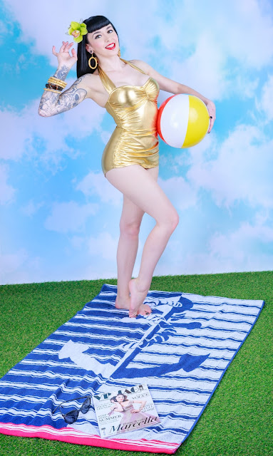 Swimwear Pinup Photoshoot - Little Miss Doo Wop - Portraits & Pinups