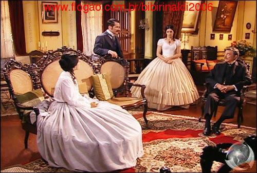 A escrava Isaura cena da novela
