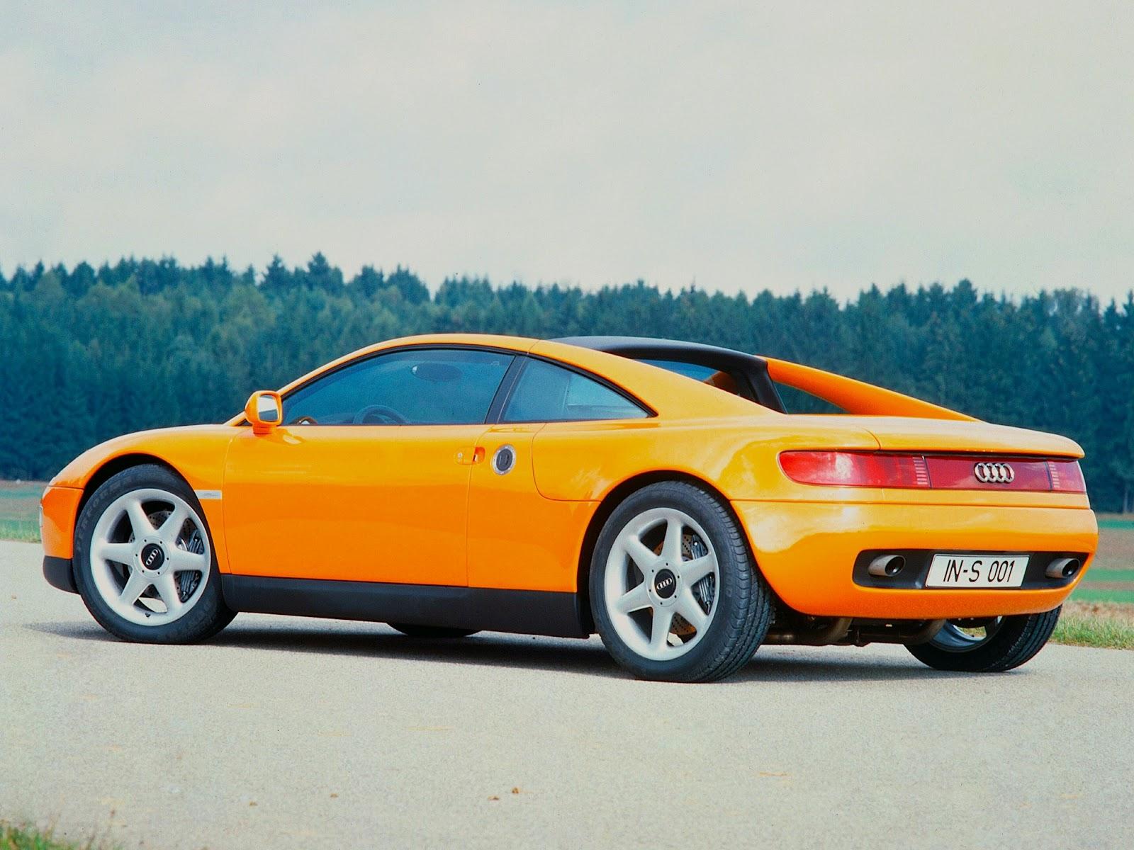 FAB WHEELS DIGEST (F.W.D.): 1991 Audi quattro Spyder Concept