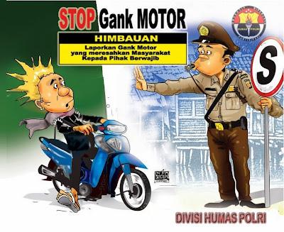 Polisi Tangkap Geng Motor Pelaku Pembacokan di Bekasi
