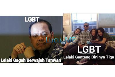 12 Meme Singkatan LGBT Lucu Banget Bikin Ketawa Manja