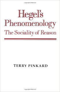 Terry Pinkard, Hegel's Phenomenology