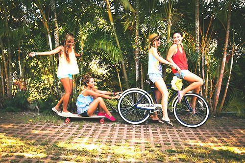 Fotos com Amigas-Blog Garota Estrela