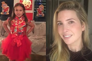 Viral video of the President's granddaughter: 5-year-old daughter Ivanka trump made waves in Chinese social networks