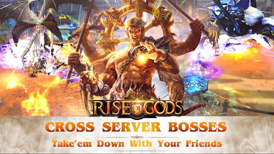 Download Mod game Rise of Gods A saga of power and glory APK gratis