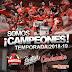 CARDENALES ES CAMPEÓN DE LA TEMPORADA 2018-2019