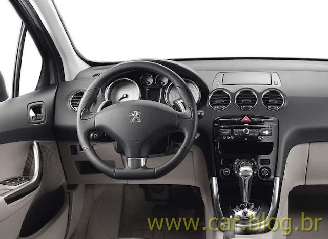 Novo Peugeot 308 2012 - Painel