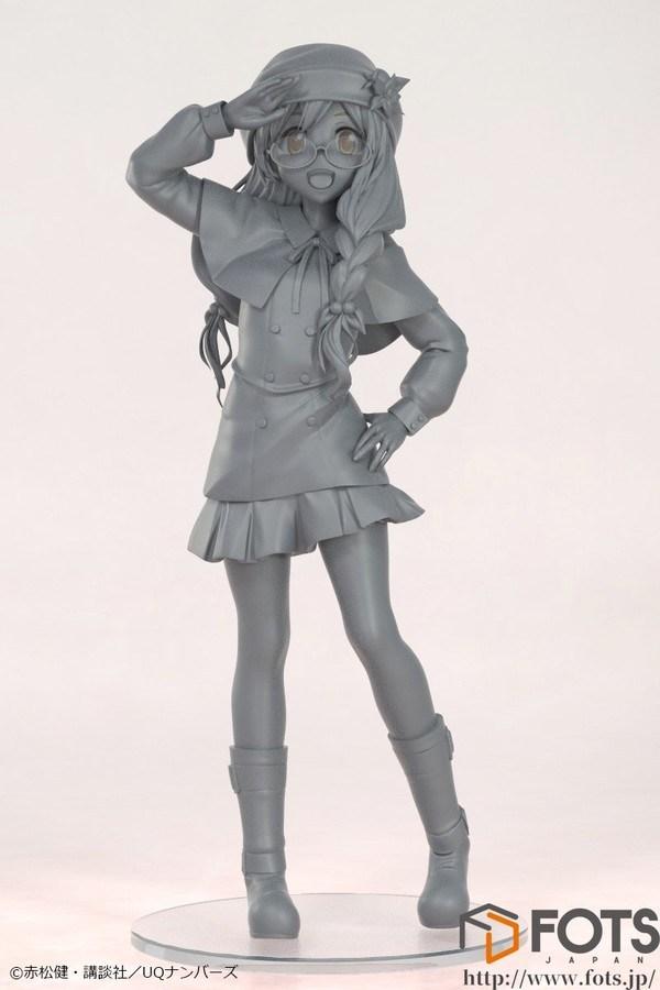 "Prototipo sin pintar de Kirie Sakurame de ""UQ Holder!"" - FOTS Japan"