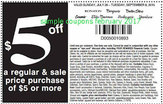 Carson Pirie Scott coupons for february 2017
