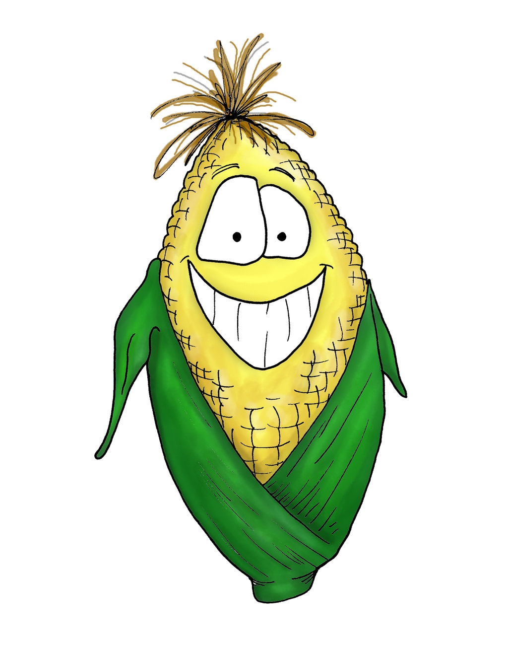 Corn Coloring Pages Printable - Free Printable Kids Coloring Pages