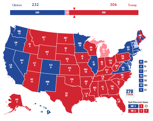 Rust Belt States Map.Anthropology Of Accord Map On Monday Trump Wins The Electoral College