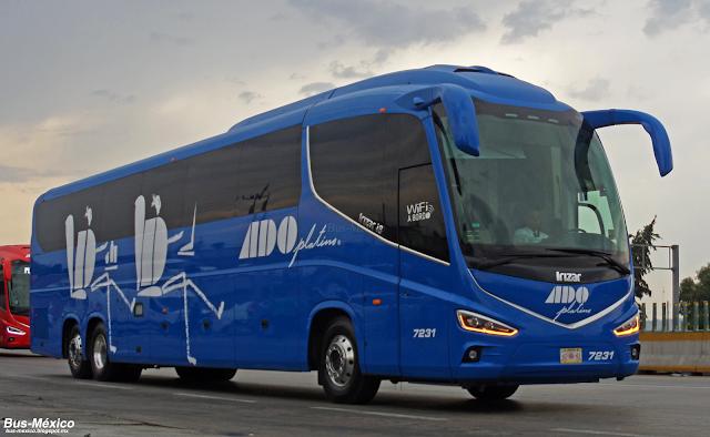 Bus m xico autobuses del oriente ado platino - Autobuses larga distancia ...
