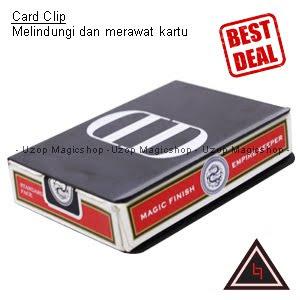 Jual alat sulap Card Clip, jual card clip, press penjepit kartu remi
