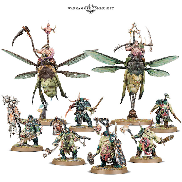 Start Collecting Nurgle Maggotkin