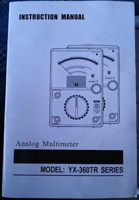 Panduan Penggunaan Multimeter Analog