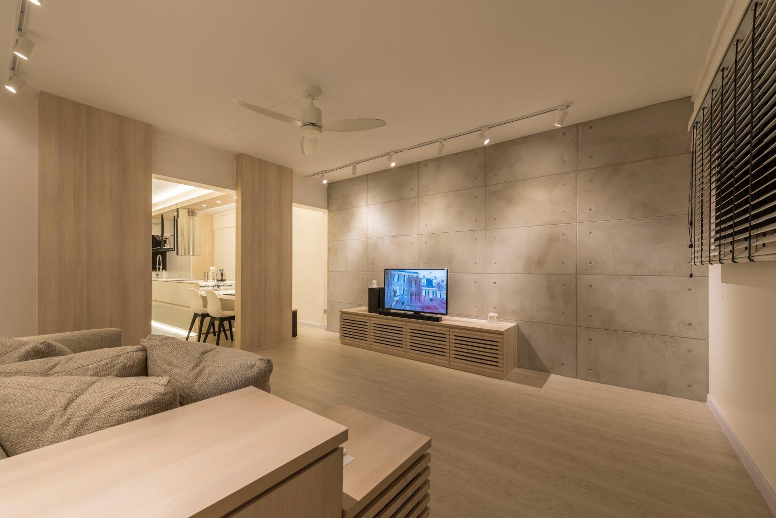 Interior Design Guide: Minimalist interior design , HDB 3 room